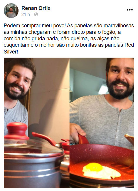 Site Oficial Red Silver