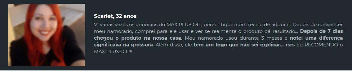 max oil plus funciona